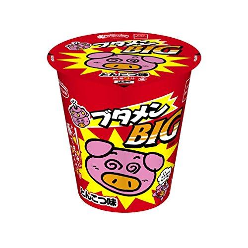 ブタメンBIG とんこつ味 1ケース(12個入り)