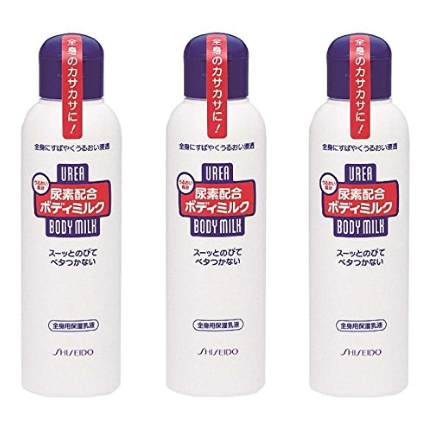 スキャン鼻標準【セット品】尿素配合 ボディミルク 150ml ×3個