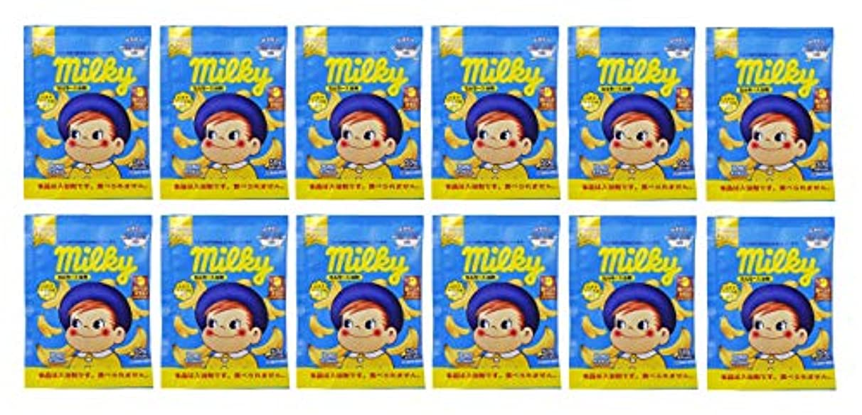 地元お互い頭蓋骨ミルキー入浴剤 バナナミルクの香り(ポコちゃん) 50g×12包セット