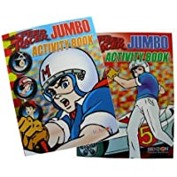 Speed Racer 2pc Jumbo Activity Books - Speed Racer 2pc Coloring Books by Bendon [並行輸入品]