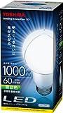 東芝 E-CORE(イー・コア) LED電球 一般電球形 10.6W(光が広がるタイプ・白熱電球60W相当・1000ルーメン・昼白色) LDA11N-G 口金直径26mm