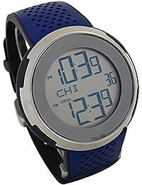 [グッチ] GUCCI 腕時計 YA114105 多機能 シルバーxブルー [並行輸入品]