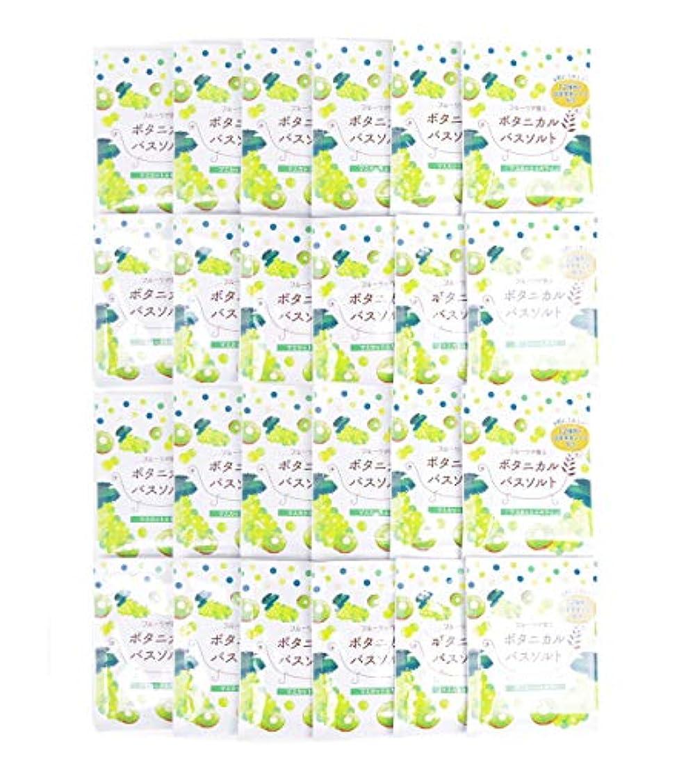 部屋を掃除する震えるアラブサラボ松田医薬品 フルーツが香るボタニカルバスソルト マスカット&キウイ 30g 24個セット