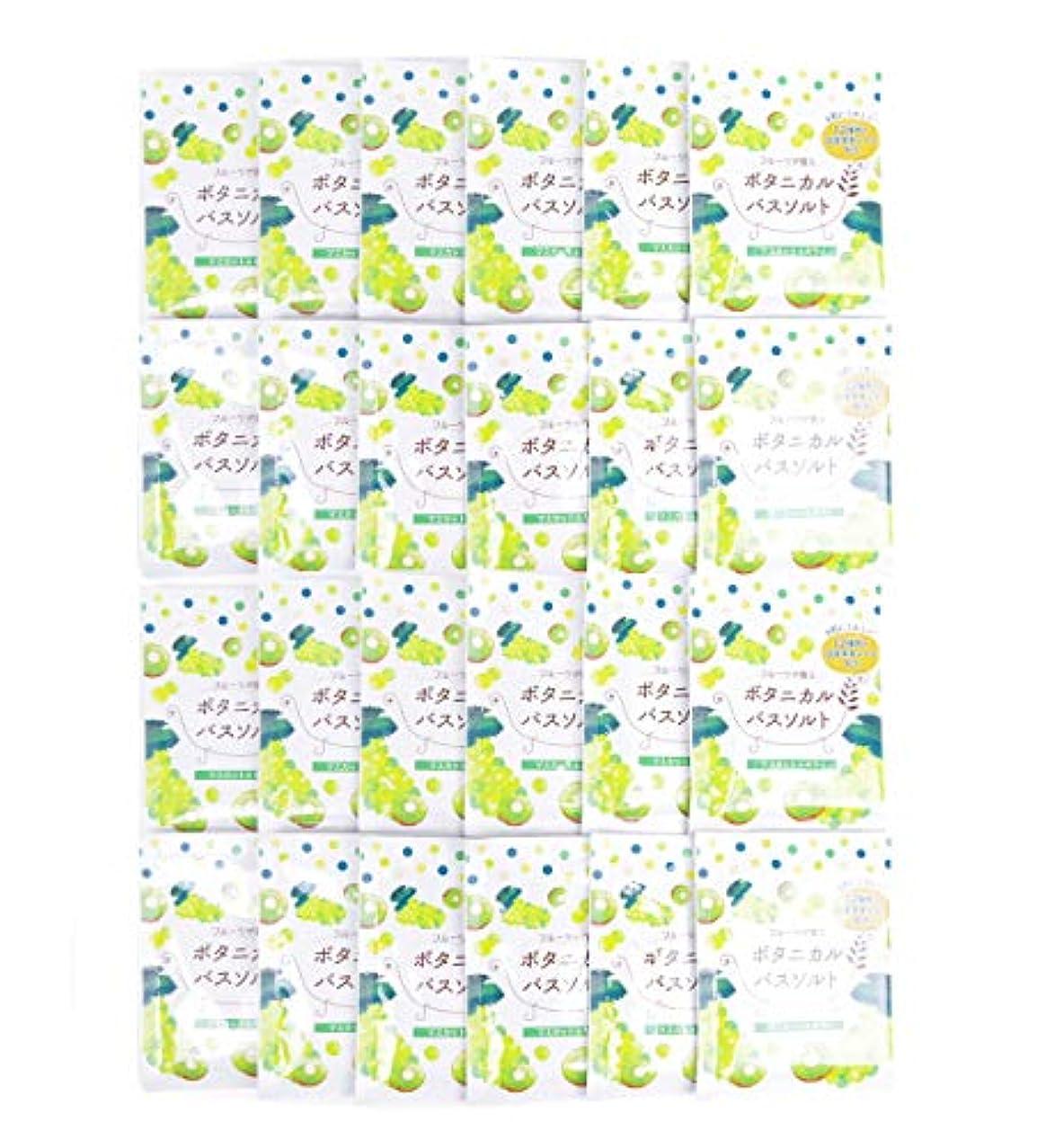 文房具結論一過性松田医薬品 フルーツが香るボタニカルバスソルト マスカット&キウイ 30g 24個セット