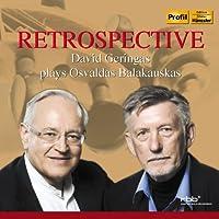 Retrospective - David Geringas plays Oavaldas Balakauskas by David Geringas