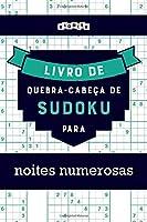 Livro de quebra-cabeças de Sudoku para noites numerosas