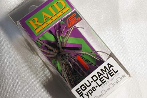 レイドジャパン (RAID JAPAN) エグダマ Type-LEVEL 3.5g #007 ゴーストシュリンプ