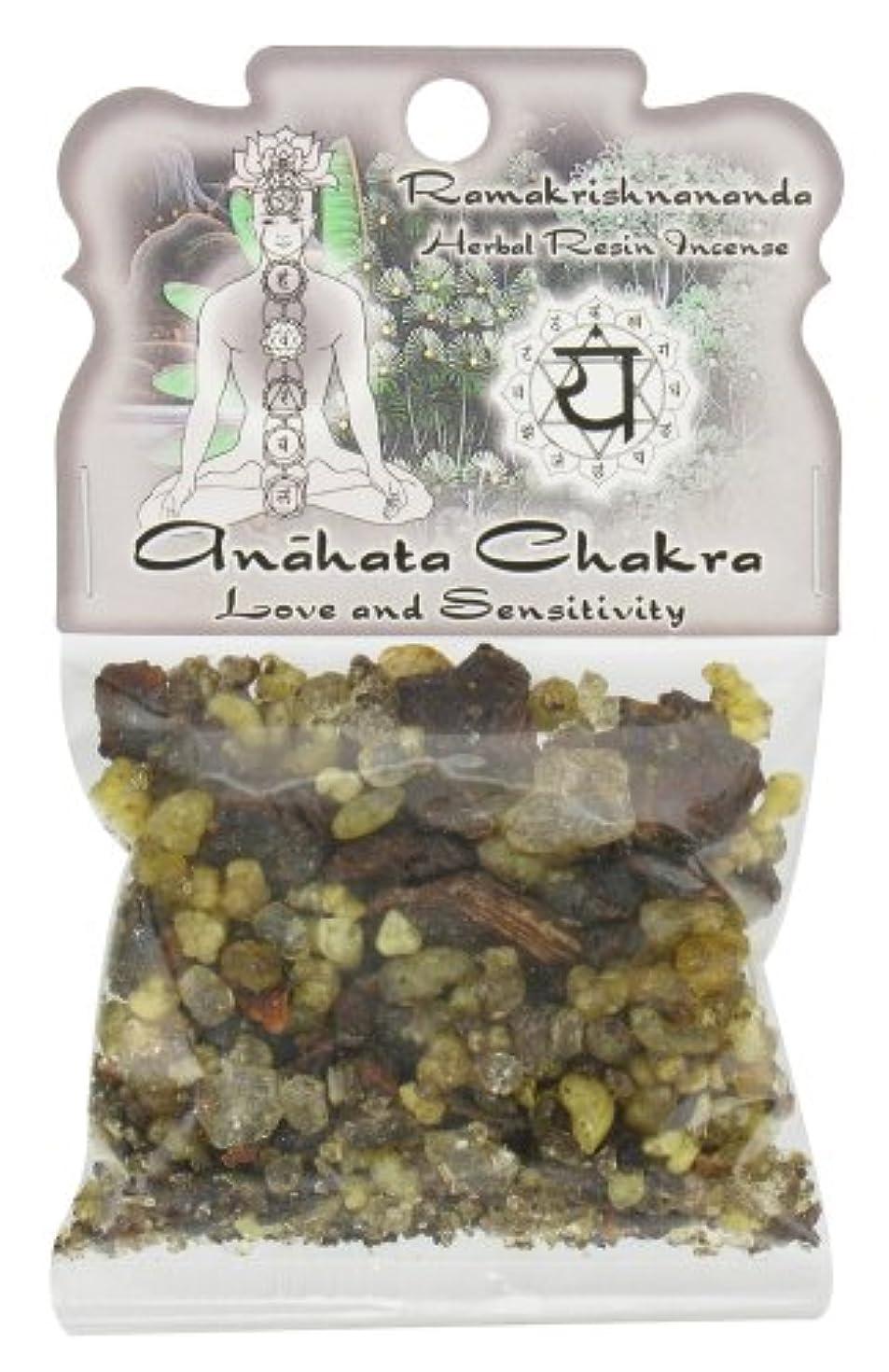 集中必須やりがいのある樹脂Incense Heart Chakra Anahata – 愛と感度 – 1.2ozバッグ