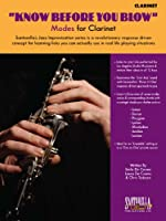 Know Before You Blow - Jazz Modes for Clarinet