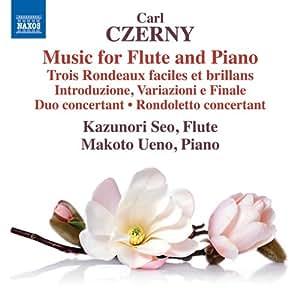 カール・ツェルニー:フルートとピアノのための作品集