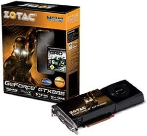 アスク ビデオカードZOTAC GTX285 1GB DDR 512Bit ZT-285E3LA-FSP