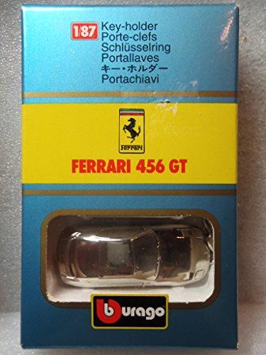 ブラーゴ ミニカーキーホルダー フェラーリ 456GT 1/87 Burago 456GT