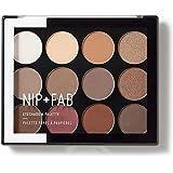 [Nip & Fab ] アイシャドウパレット12グラムが1を彫刻作るFab +ニップ - NIP+FAB Make Up Eyeshadow Palette 12g Sculpted 1 [並行輸入品]