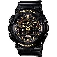 GSHOCK mens Automatic Watch, analog-digital Display and Resin Strap GA100CF-1A9