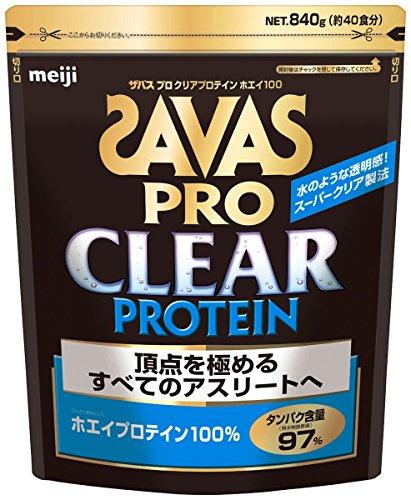 ザバス(SAVAS) プロ クリアプロテイン ホエイ100 【40回分】 840g