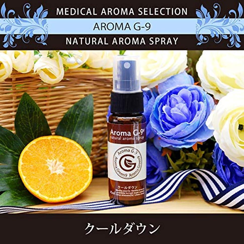 放射する悪因子アナロジーアロマスプレー Aroma G-9# クールダウンスプレー 45ml