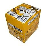 不二家 ハートチョコレート (クランチ) 1枚×10袋 1箱
