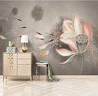 Ywwz&N カスタム手描きの世界地図のリビングルームの寝室の背景の壁紙壁画-150X120Cm