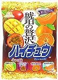 【セット品】 森永製菓 ハイチュウ HICHEW 3袋12味セット<潤い果樹園ハイチュウ4味・ハイチュウアソート4味・琥珀の贅沢ハイチュウアソート4味>