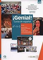 Genial!: Libro del alumno y Cuaderno de actividades 2 (A2) + audio descargabl