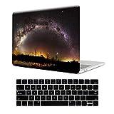 MTTプラスチックパターンハードケースキーボードカバー付きスクリーンプロテクター付きfor MacBook Air Pro retina13インチ(a1466?/a1502?/a1706?&a1708?) Pro 13 (A1706/A1708) midnight star Pro 13(A1706/A1708)