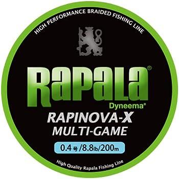 ラパラ(Rapala) PEライン ラピノヴァX マルチゲーム 200m