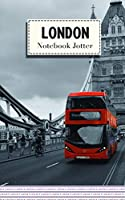 Notebook Jotter: Small Note Book | London Bus Design