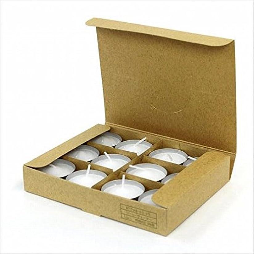 掃く過激派白いkameyama candle(カメヤマキャンドル) コーヒーウォーマー12個入り(日本製)(77980099)