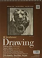 """Strathmore 400-104 400 Series Drawing, Smooth Surface, 9""""x12"""" Wire Bound, 24 Sheets [並行輸入品]"""
