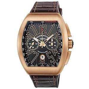[フランクミュラー]FRANCK MULLER 腕時計 ヴァンガード ブラック文字盤 V45CCDT BLK BRW 5N メンズ 【並行輸入品】