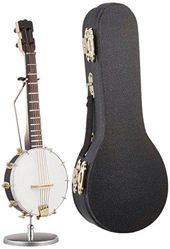 [해외]SUNRISE SOUND HOUSE 선 라이즈 사운드 하우스 미니어처 악기 밴조 15cm/SUNRISE SOUND HOUSE Sunrise Soundhouse Miniature Instrument Banjo 15cm