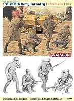 1/35 イギリス 第8陸軍歩兵 エル・アラメイン 1942