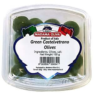 マダマ オリバ シシリー 産 グリーン オリーブ 150g