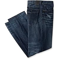 Sean John Men's Big and Tall Flap Pocket Hamilton Jean