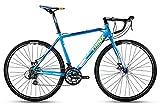 TRINX(トリンクス) 【ロードバイク】 Wディスクブレーキ デュアルコントロール SHIMANO 軽量アルミフレーム ヒルクライム シクロクロス CLIMBER1.0 Climber ブルー