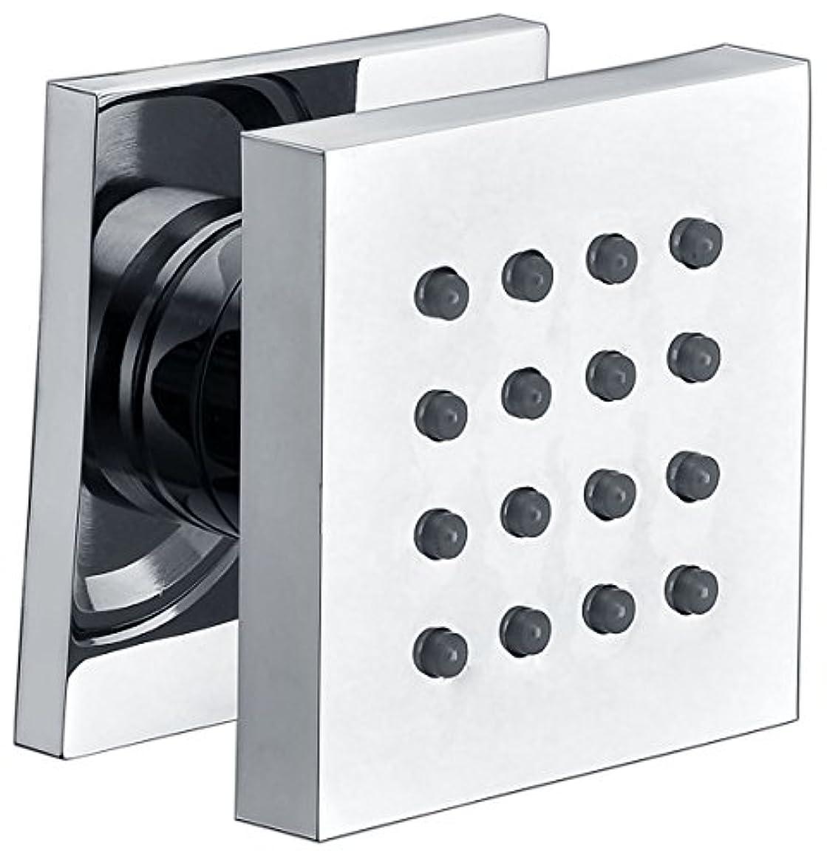 Alfiブランドab4501モダン正方形調整可能シャワーボディスプレー AB4501-PC 1