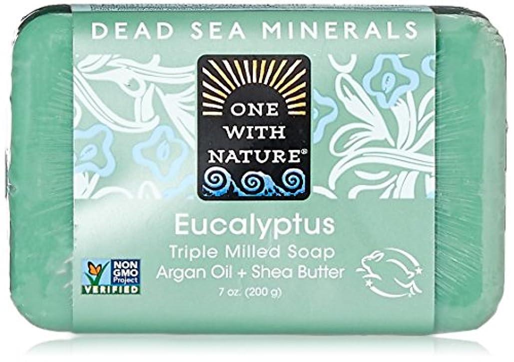 トロリーバス無視できる噛むOne With Nature Eucalyptus Bar Soap (1x7 Oz) by One With Nature