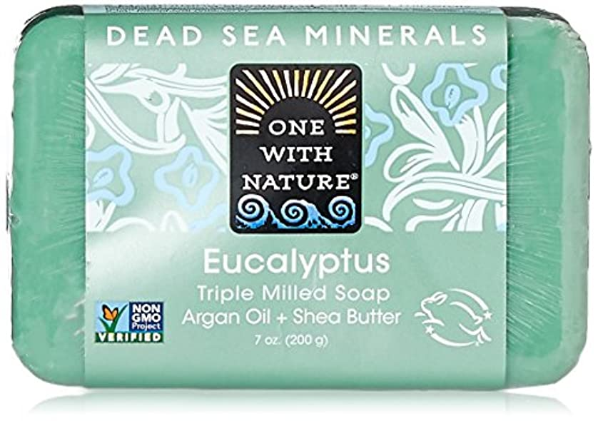 エピソード振るう浸透するOne With Nature Eucalyptus Bar Soap (1x7 Oz) by One With Nature