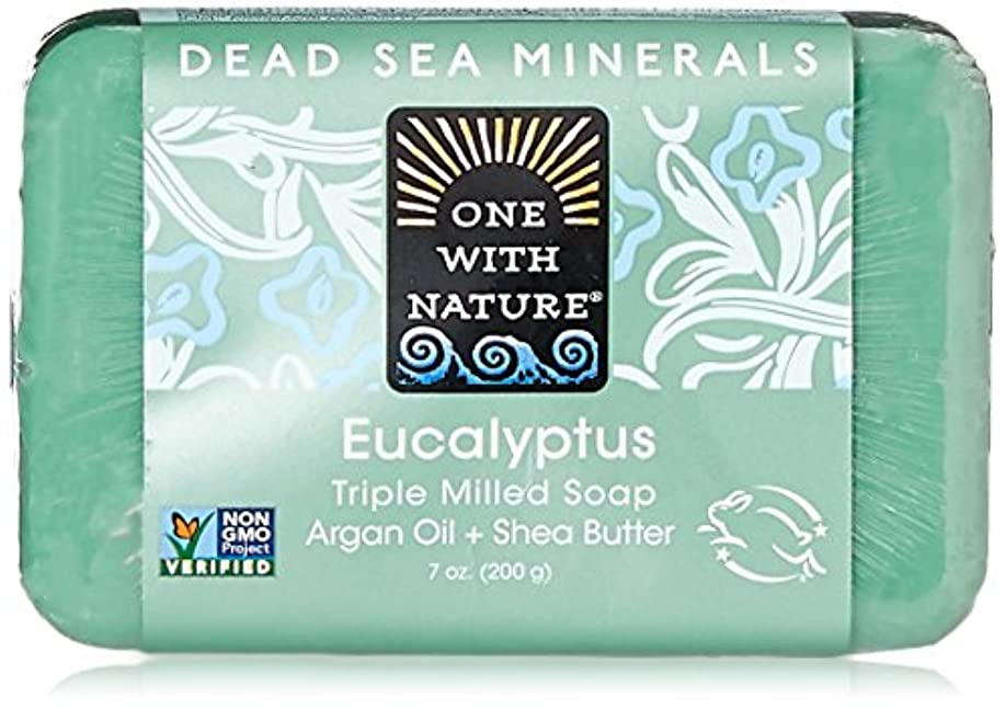 遅い気まぐれなバーガーOne With Nature Eucalyptus Bar Soap (1x7 Oz) by One With Nature