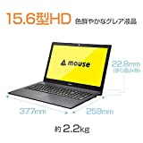 mouse ノートパソコン MB-BN26CS-ZN/Windows 10/Celeron N3160/15.6インチ/4GBメモリ/120GB SSD
