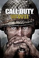 """義務WW IIゲームのポスター 21x14""""のコールCOD、第二次世界大戦第二次世界大戦シルク [並行輸入品]"""