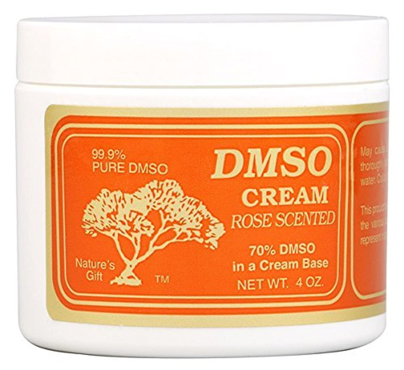 発生この篭DMSO Cream Rose Scented - 4 oz [並行輸入品]
