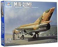 トランペッター 1/48 MiG-21MF プラモデル