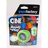 YoYoFactory ONE Ball Bearing Professional Trick YoYo - Green [並行輸入品]