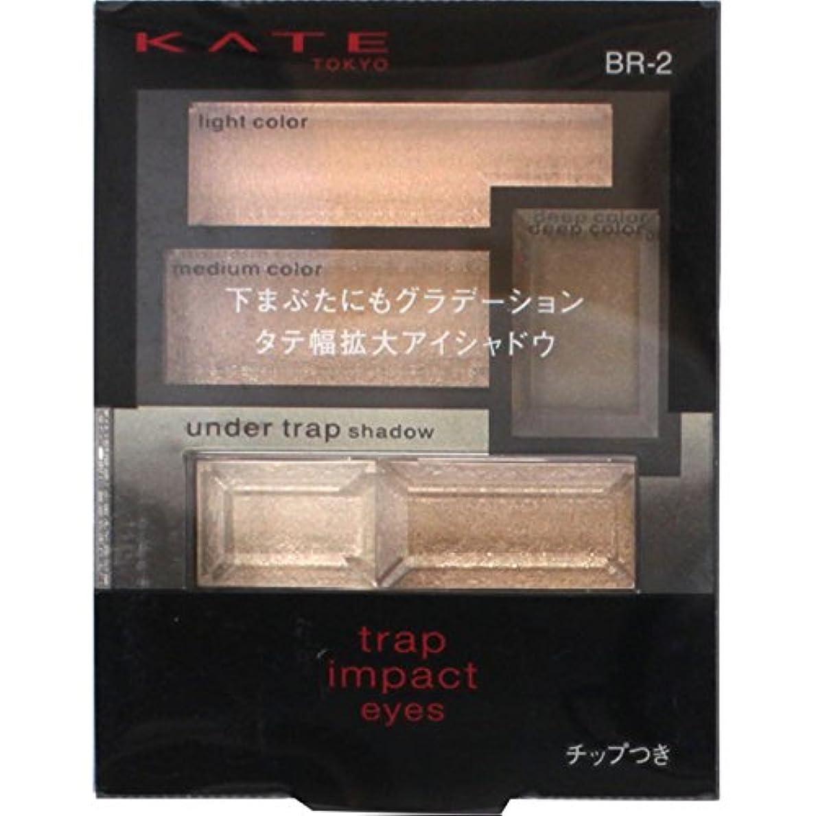 カネボウ ケイト トラップインパクトアイズ BR-2