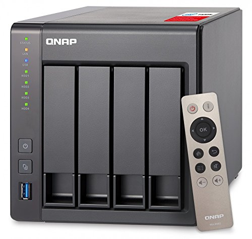 『QNAP(キューナップ) TS-451+ 専用OS QTS搭載 intelクアッドコア2.0GHz CPU 2GBメモリ 4ベイ ホーム/SOHO向け プライベートクラウド機能対応 NAS 2年保証』のトップ画像