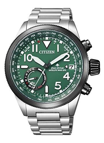 [シチズン]CITIZEN 腕時計 PROMASTER プロマスター エコ・ドライブGPS衛星電波時計 F150 ランドシリーズ ダイレクトフライト CC3067-70W メンズ