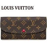 (ルイヴィトン) LOUIS VUITTON 長財布 モノグラム ポルトフォイユ・エミリー フューシャ M60697