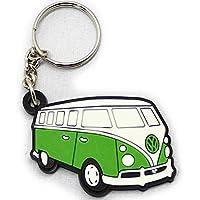 ラバーキーホルダー Volkswagen ワーゲンバス グリーン