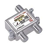 DXアンテナ 混合分波器 【2K 4K 8K 対応】 CS/BS-IF(2610MHz)+UHF・FM(CATV)対応 高シールド構造 MBUMS